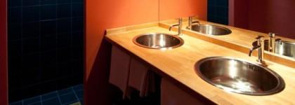 Šumava chalupy koupelna