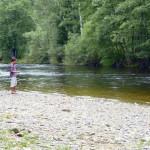 Koupání na řece Otavě