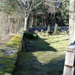 Kostel na Mouřenci, hřbitov